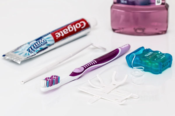 dental aligners and cleaning tools